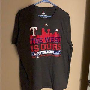 Texas Rangers 2015 AL West Division Champions